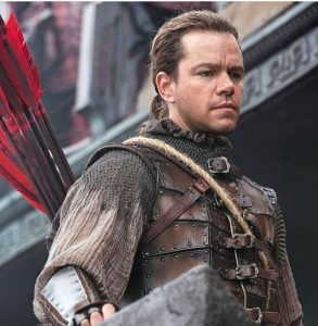 The Great Wall - Matt Damon