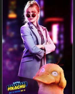 Detective Pikachu -  Kathryn Newton