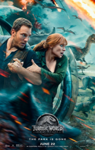 Jurasic World Fallen Kingdom - Chris Pratt, Bryce Dallas Howard