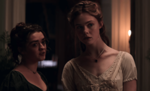 Mary Shelley - Maisie Williams, Elle Fanning