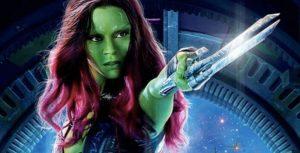 Guardians Of The Galaxy - Zoe Saldana