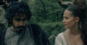 The Green Knight - Dev Patel & Alicia Vikander