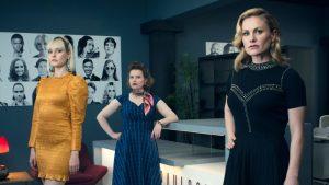 Flack S2 - Lydia Wilson, Rebecca Benson, Anna Paquin